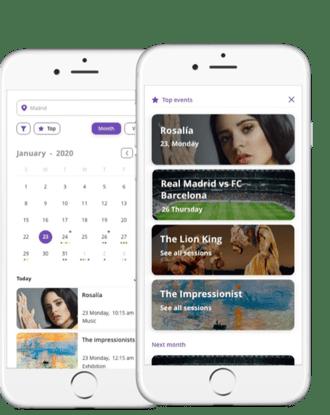 agenda mobile